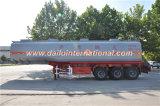 benzina del acciaio al carbonio di 3-Axle 47cbm/del serbatoio di combustibile rimorchio rimorchio semi