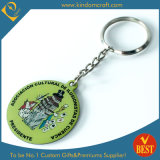 Promotional Gifts (LN-070)를 위한 관례 제 2 Enamel Metal Keychain