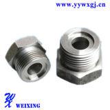 Ajustage de précision en acier de joint d'adaptateur d'OEM Strainless