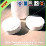 Tablilla química Trichloroisocyanuric de la clorina del tratamiento de aguas del precio del ácido TCCA