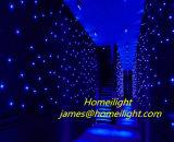 Double Decker Fireproof Velvet LED Star Curtain para casamento, clube, estágio decorado
