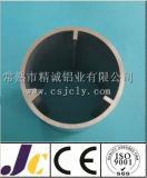 Pipe en aluminium anodisée 6005 par séries, pipe en aluminium ronde (JC-C90024)