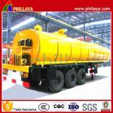 Het volume paste de Op zwaar werk berekende Chemische Vloeibare Semi Aanhangwagen van het Vervoer van de Tanker aan