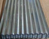 Folha Z40 ondulada galvanizada Hrb85-90 para a telha de telhadura