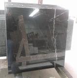 Хонинговано/отполировал/слябы и плитки почищенные щеткой/Antique черные Nero Marquina