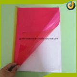 Tampa removível do emperramento de livro do PVC da cor cheia