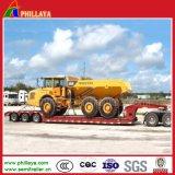 Pesante-Trasportare il rimorchio di Lowbed del camion del trasportatore dell'escavatore 60tons