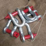 Uns schmieden Typ G2150 Dee Typ Schraubepin-Anker-Fessel