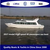 Barco de mar modelo de 2017 pasajeros de la velocidad 40