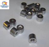 Parada de aluminio del cable de la parada del botón de la cuerda de alambre