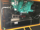 パーキンズエンジン1104D-E44tag2を搭載する113kVA極度の無声ディーゼル発電機