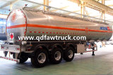 Adr Certificaat 5454 de Aanhangwagen van de Tank van de Brandstof van de Legering van het Aluminium