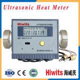 Medidor de fluxo ultra-sônico infravermelho remoto barato do calor de Mbus RS485 da leitura
