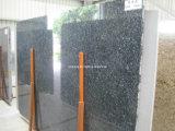 Blauer Perlen-Fliese-Platte-Granit für Eitelkeits-Oberseite &Countertop