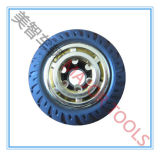 wielen van het Stuk speelgoed van 100/127/150/200 mm de Stevige Rubber