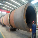Secador de cilindro giratório do cilindro para a secagem composta do fertilizante