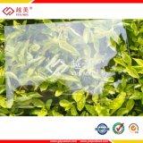 Solid Polycarbonate Embossed Sun Sheet 100% Virgin Sabic Lexan Matériau de construction en plastique PC ondulé pour Toiture Serre
