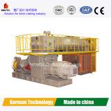 Vídeo de trabalho da máquina de fatura de tijolos do vácuo da tecnologia de Alemanha da capacidade elevada
