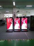 Fußboden-Standplatz LED, der Bildschirmanzeige-DigitalSignage bekanntmacht