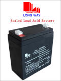 bateria solar do UPS do vídeo 12V3ah