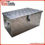 ロック(314015)が付いているアルミニウム道具箱