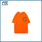 T-shirt fait sur commande de coton/T-shirt de polyester pour la promotion