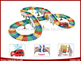 1 Car (198PCS)를 가진 Building Blocks Toys Railway Toys의 DIY Toys