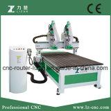 Ferramenta da maquinaria de Woodworking do CNC de 2 eixos