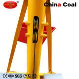 China-haltbare und zugelassene mini Dieselmotor-Kran-Hebevorrichtung