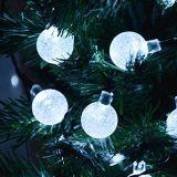 20의 LED 5m LED 태양 크리스마스 태양 손전등이 태양 빛 LEDs 태양 램프 정원 옥외 화환에 의하여 점화한다