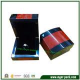 Caja de madera de la joyería de lujo de dos colores