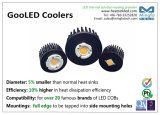 Refroidisseur froid de radiateur de radiateur d'ailette de Pin de forge pour le module 24W - Gooled-Cit-7850-Dia 78mm de citoyen