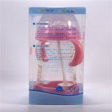 Bottom Set를 가진 270ml Crystal Diamond Baby Glass Bottle