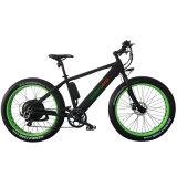 '' Schnee-fetter Gummireifen-Gebirgselektrisches Fahrrad 500W des Strand-26