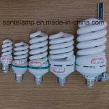 Fábrica ahorro de energía espiral llena de la lámpara