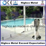 Framelessのガラスにプールの囲うことのためのステンレス鋼の正方形の栓