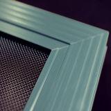 Schermo rivestito della finestra di obbligazione dell'acciaio inossidabile della polvere