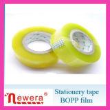 Bande adhésive d'emballage de BOPP dans le double faisceau de papier estampé