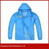 Casaco de ciclismo personalizado por atacado para desgaste de homens Sports à prova de vento (J169)