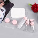 бутылки портативных косметик лосьона сливк шампуня перемещения 5PCS/Set Refillable пластичные пустые