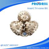 Dreikegeliges Bit/Rollen-Gesteinsmeißel/Felsen-Bit für Wasser-Vertiefungs-Bohrung