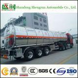 De Aanhangwagen van /Tank /Tanker van de Ruwe olie/de Vloeibare Semi Aanhangwagen van de Tanker