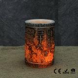 Bougies artificielles de modèle neuf avec la flamme réelle pour la lumière à la maison de bougie de la décoration DEL