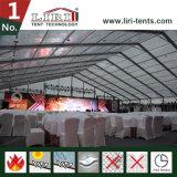 Grande tente résistante UV pour la tente de mariage de secteur de la restauration avec la cuisine
