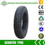 3.00-10 Neumáticos sin tubo del tubo chino de la marca de fábrica para la motocicleta