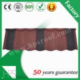 Mattonelle di tetto d'acciaio rivestite del metallo della pietra di fabbricazione di Guangzhou
