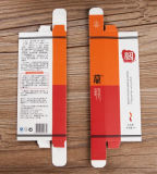 Plegable de la caja Caja de papel cosmética del lápiz labial