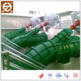 Bomba de água elétrica de fluxo axial de tipo inclinado com circulação