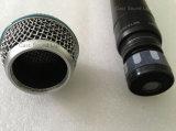 Matériel sonore sans fil de microphone tenu dans la main de la fréquence ultra-haute Slx24/Sm58