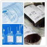 (KM-EX2), saco do sangue, saco da drenagem e a outra linha de produção da extrusão do saco
